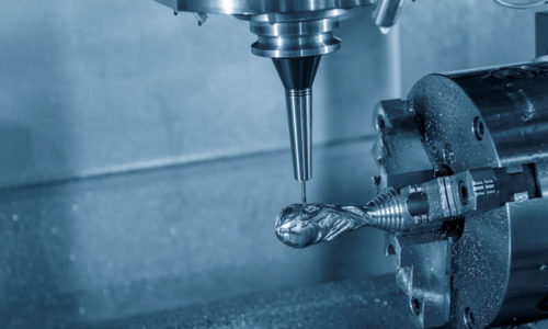 The 3-axis CNC milling machine